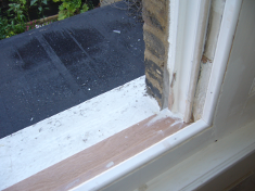 Window Sill after